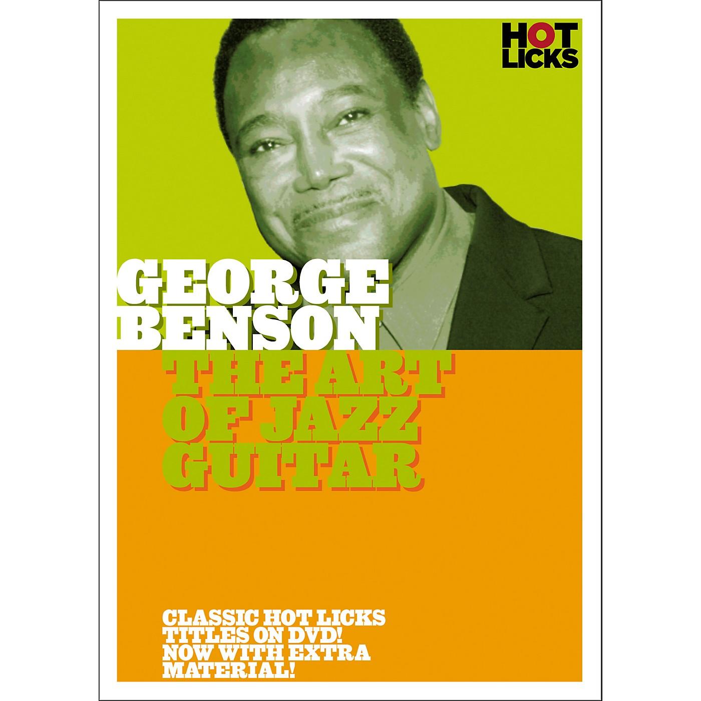 Music Sales George Benson: The Art of Jazz Guitar DVD thumbnail