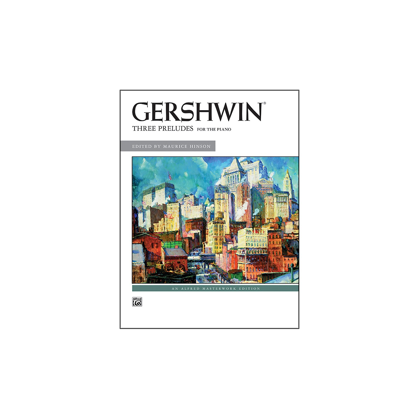 Alfred George Gershwin Three Preludes Piano Solos thumbnail