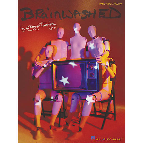 Hal Leonard George Harrison - Brainwashed Piano, Vocal, Guitar Songbook thumbnail