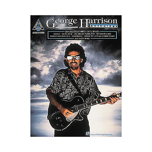 Hal Leonard George Harrison Anthology Guitar Tab Book thumbnail