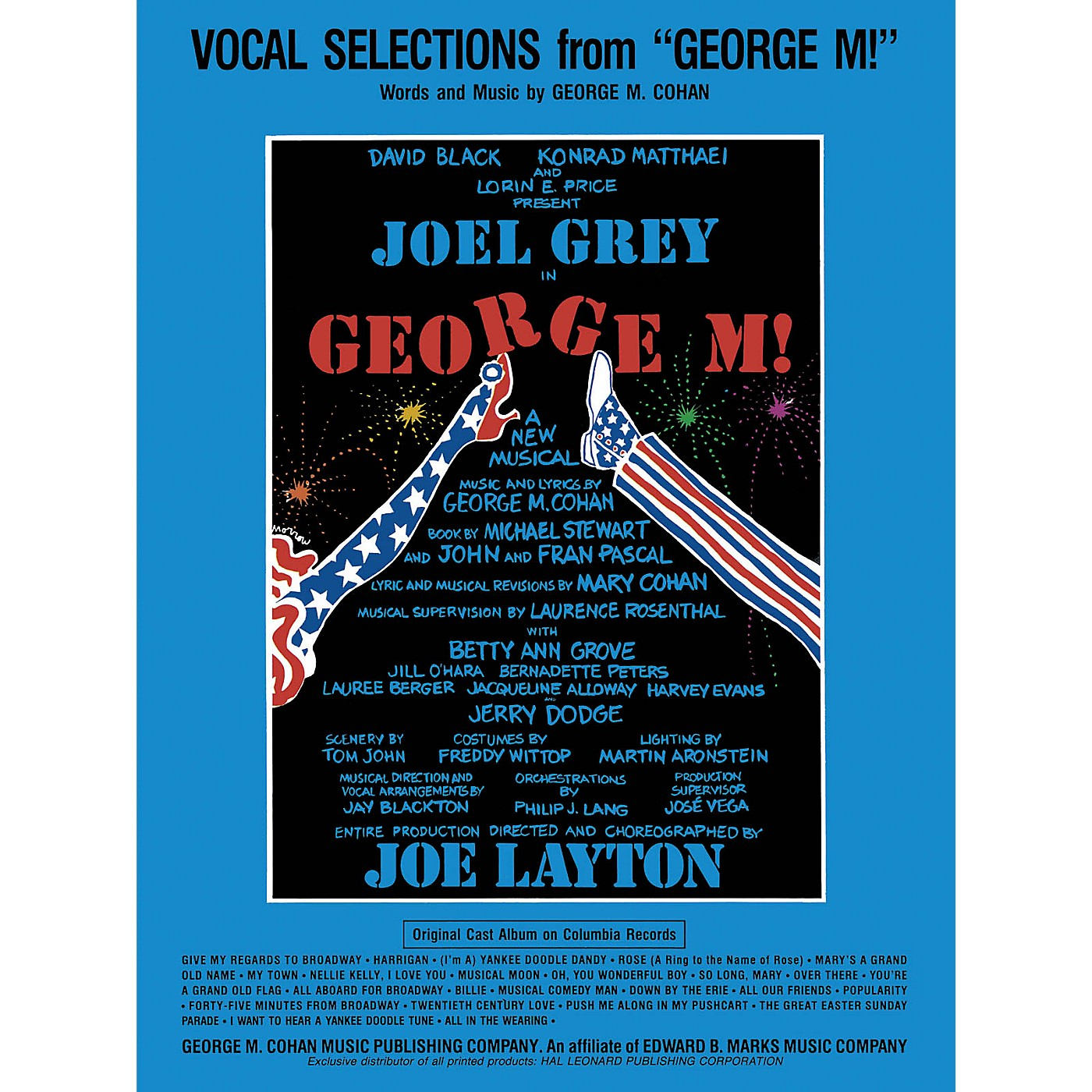 Hal Leonard George M! Vocal Selections Series thumbnail