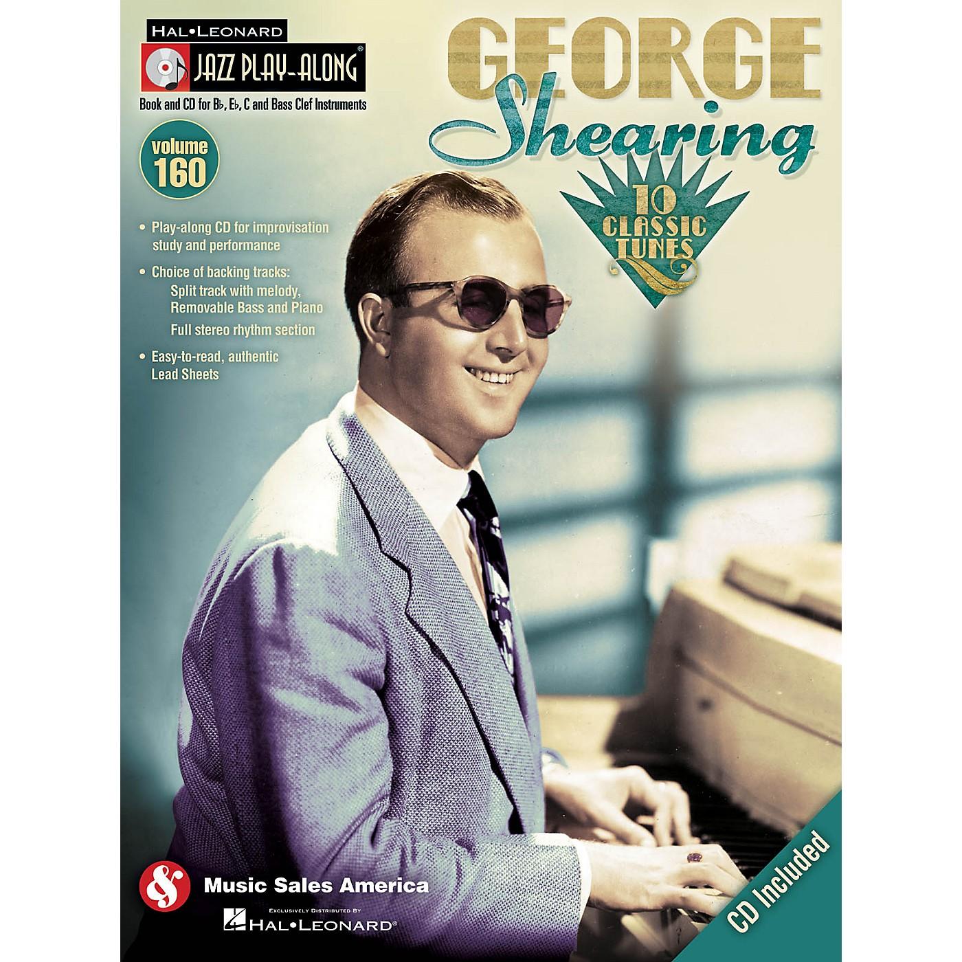 Hal Leonard George Shearing - Jazz Play-Along Volume 160 Book/CD thumbnail