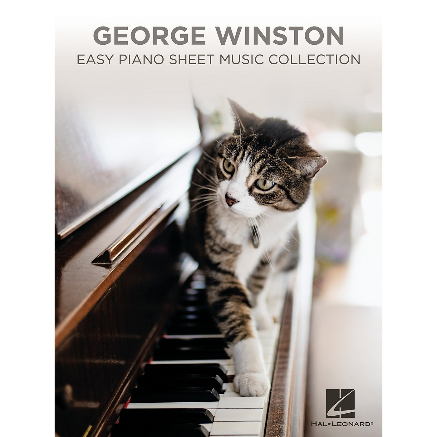 Hal Leonard George Winston - Easy Piano Sheet Music Collection Songbook thumbnail