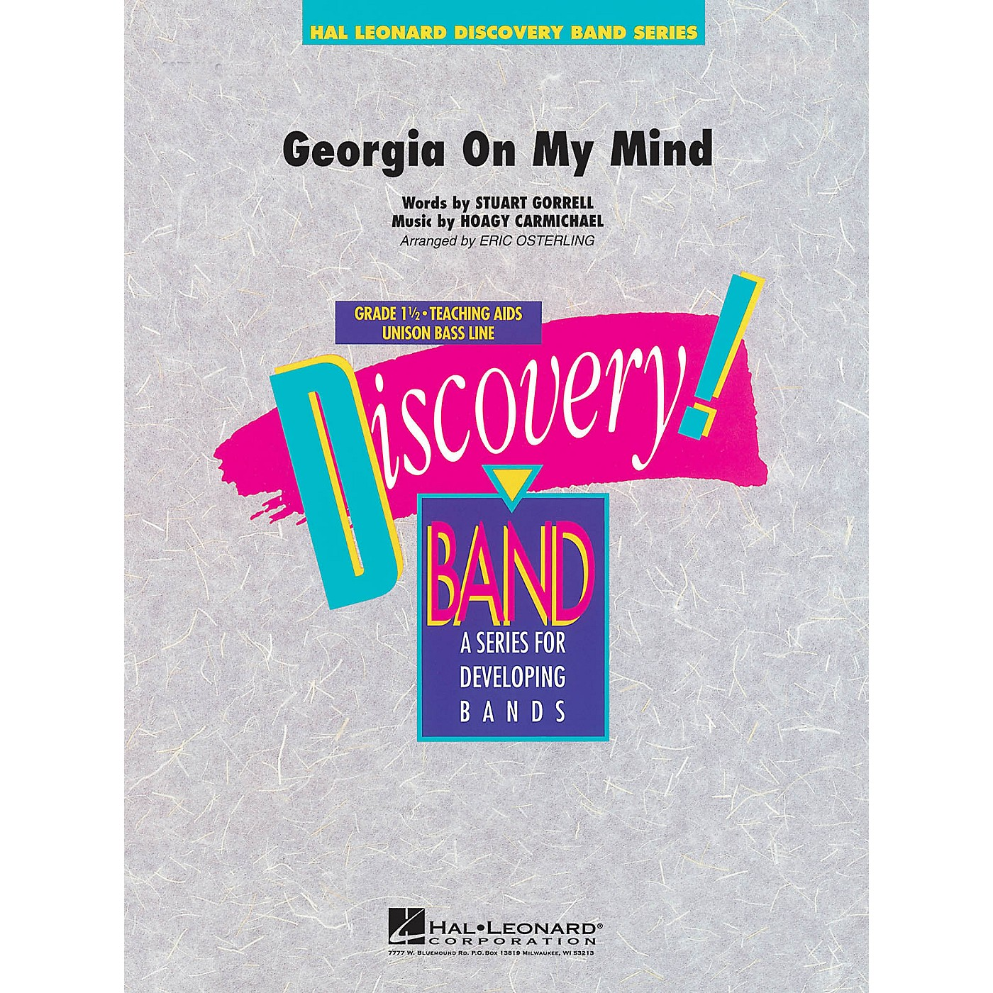 Hal Leonard Georgia on My Mind Concert Band Level 1.5 Arranged by Eric Osterling thumbnail