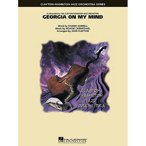 Hal Leonard Georgia on My Mind Jazz Band Level 5 Arranged by John Clayton thumbnail