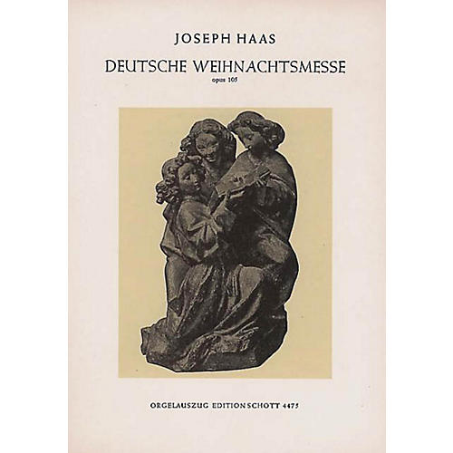 Schott German Christmas Mass (Vocal Score) Composed by Joseph Haas thumbnail