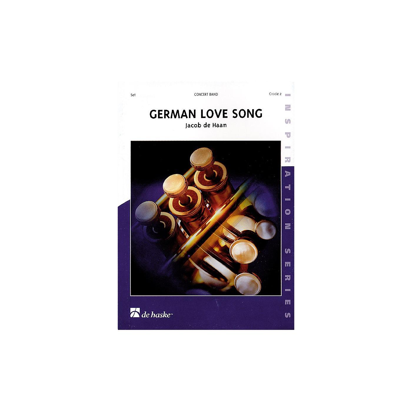 De Haske Music German Love Song Concert Band Level 2 Composed by Jacob de Haan thumbnail