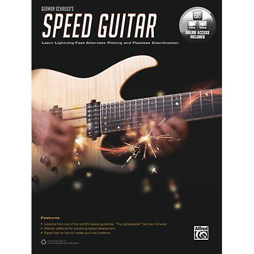 Alfred German Schauss's Speed Guitar Book & Online Audio & Video thumbnail