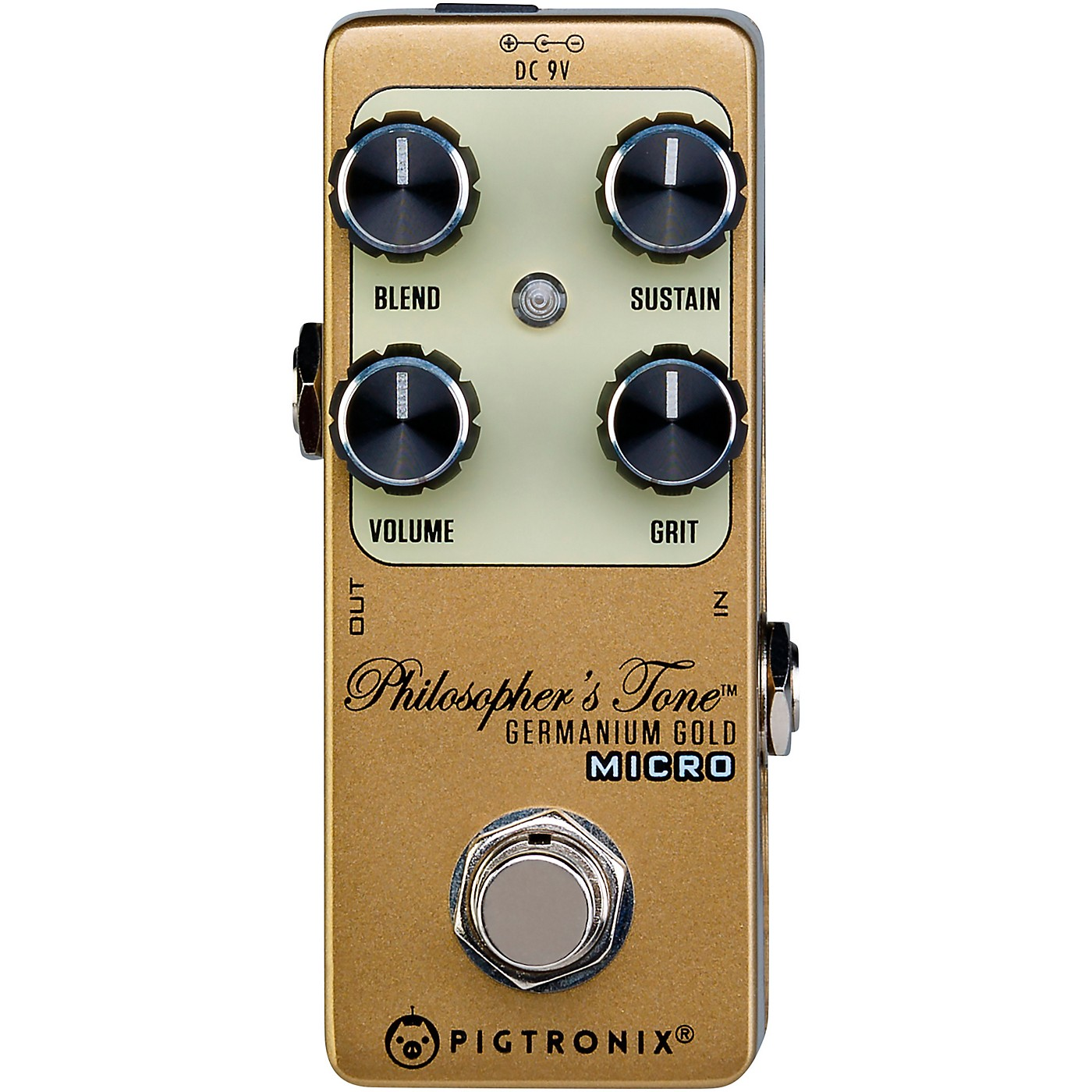 Pigtronix Germanium Gold Compressor Micro Effects Pedal thumbnail