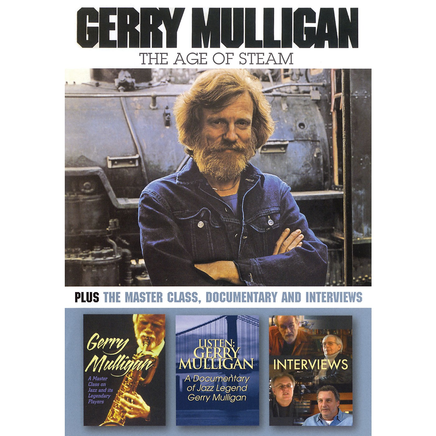 Hal Leonard Gerry Mulligan - The Age of Steam DVD Series DVD Performed by Gerry Mulligan thumbnail