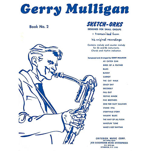 Hal Leonard Gerry Mulligan Sketch-Orks Book 2 For E Flat And B Flat Instruments thumbnail