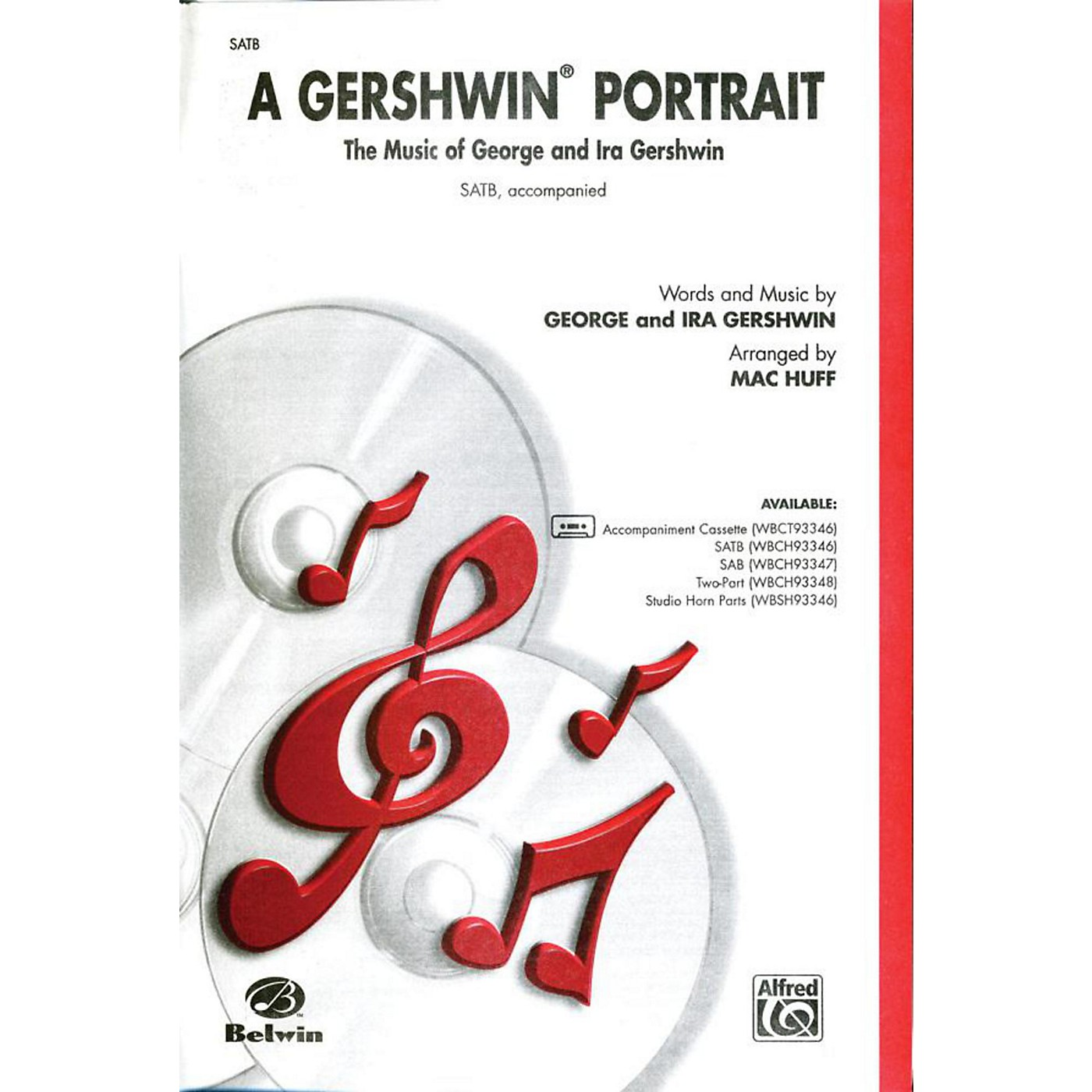 Alfred Gershwin Portrait! The Music of George and Ira Gershwin SATB Choral Octavo thumbnail