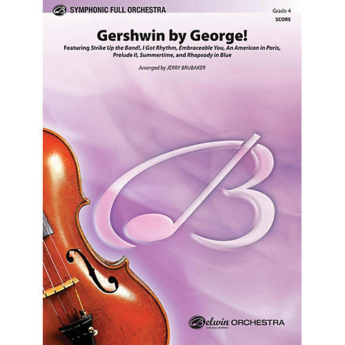 Alfred Gershwin by George Full Orchestra Grade 4 thumbnail