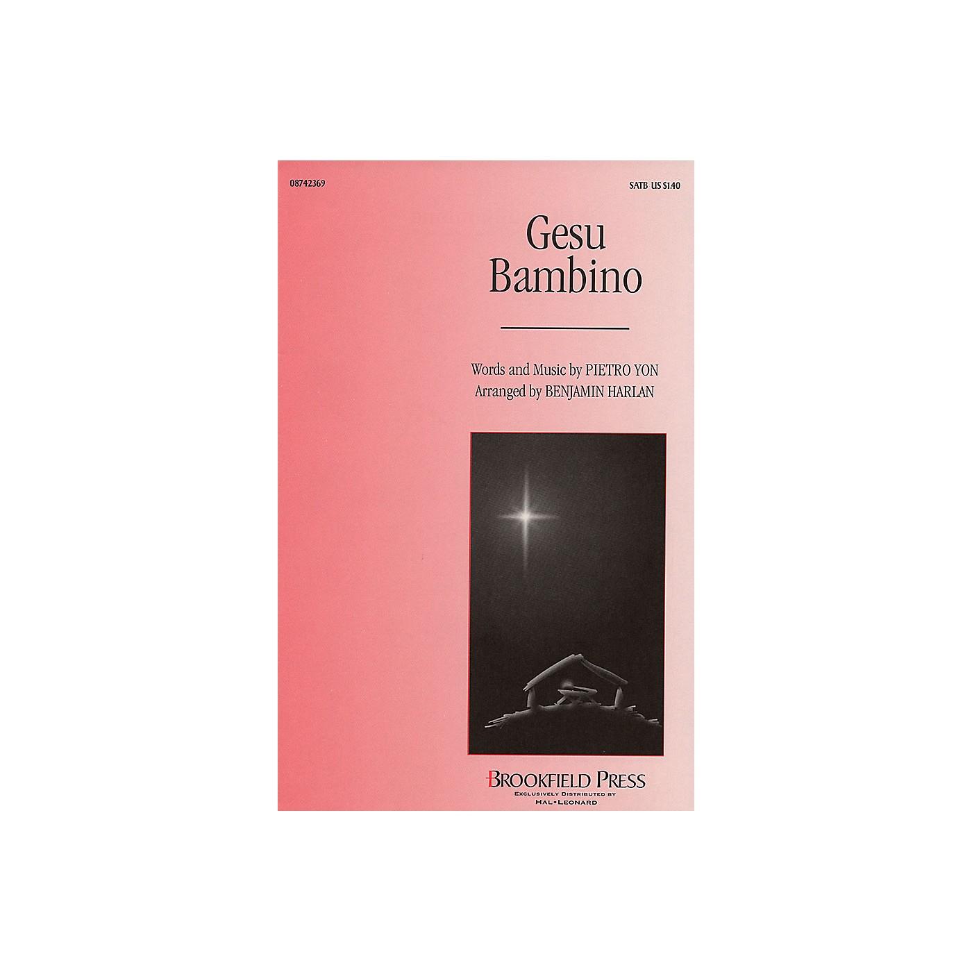Brookfield Gesu Bambino SATB arranged by Benjamin Harlan thumbnail