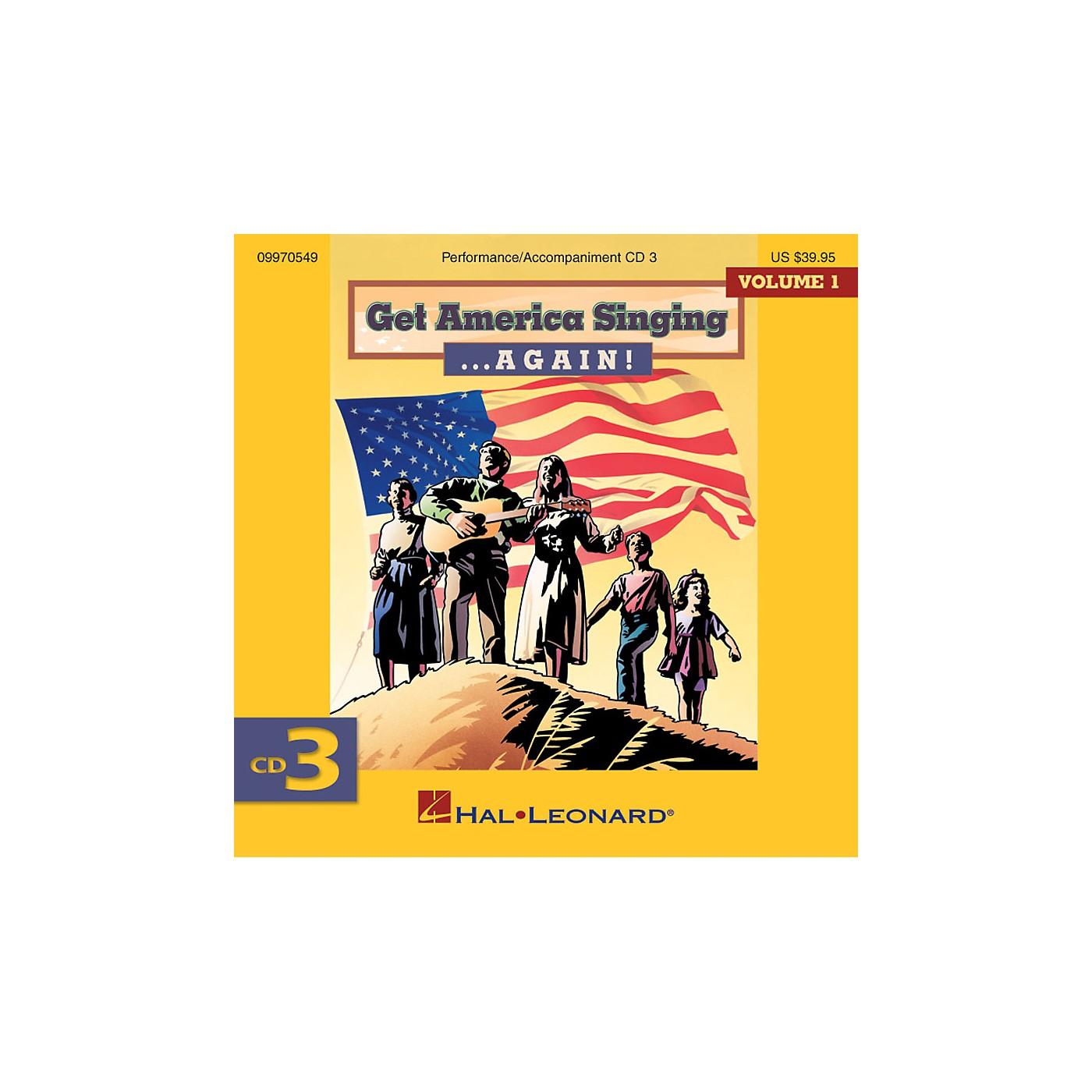 Hal Leonard Get America Singing ... Again! Vol 1 CD Three Volume One CD Three thumbnail