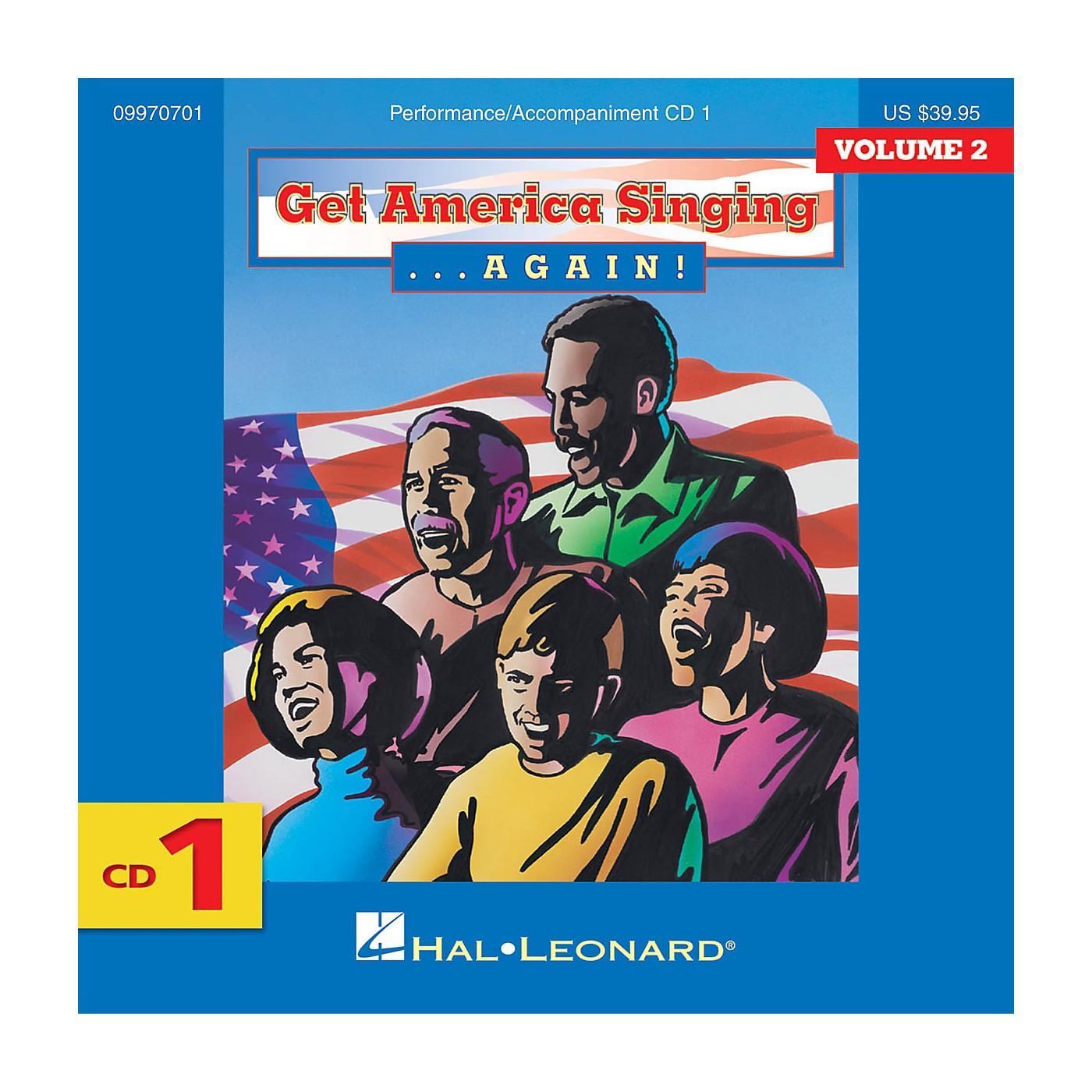 Hal Leonard Get America Singing Again Vol 2 CD One Vol 2 CD 1 thumbnail