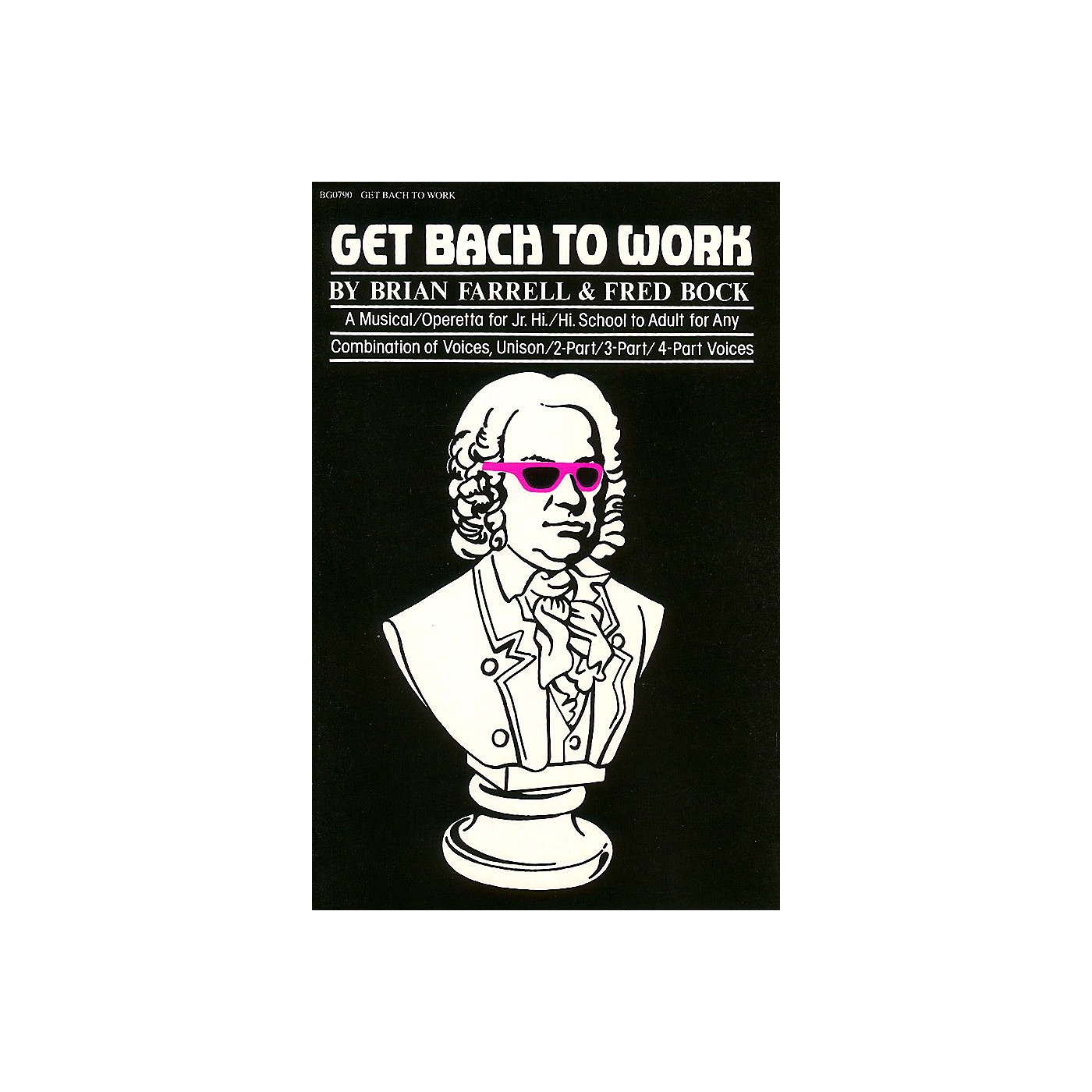 Hal Leonard Get Bach to Work composed by Fred Bock thumbnail