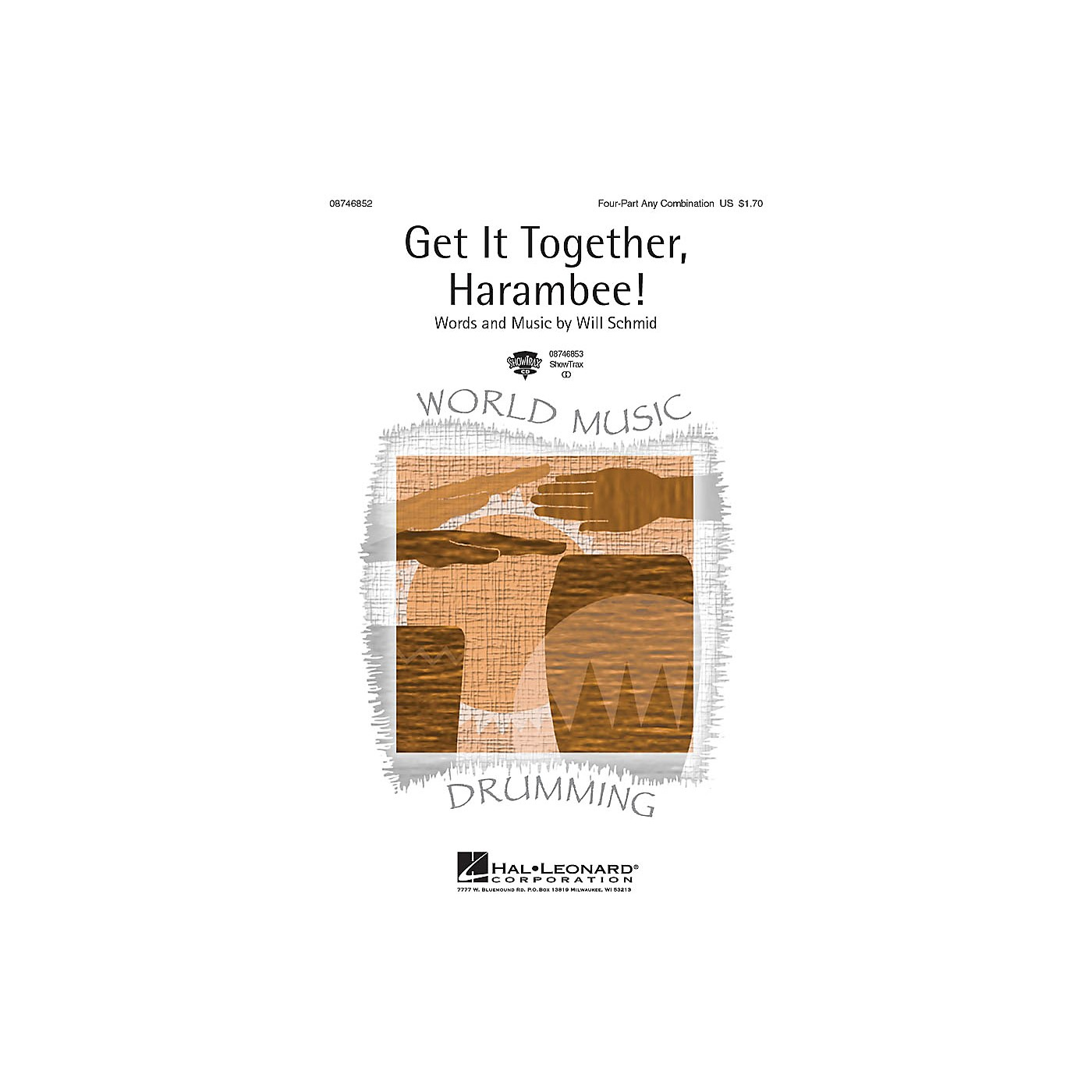 Hal Leonard Get It Together, Harambee! ShowTrax CD Composed by Will Schmid thumbnail