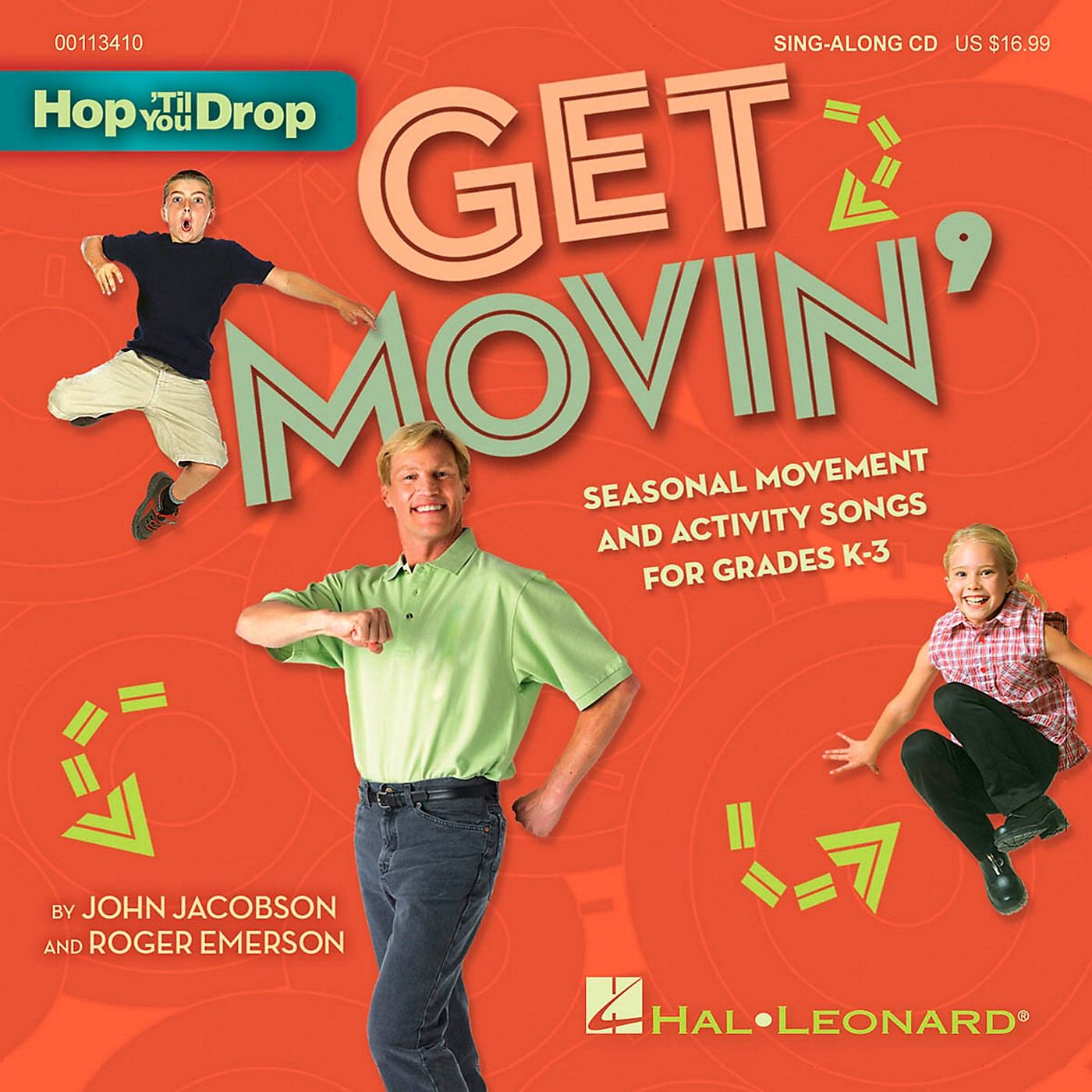 Hal Leonard Get Movin' - Seasonal Movement and Activity Songs for Grades K-3 Book/CD thumbnail
