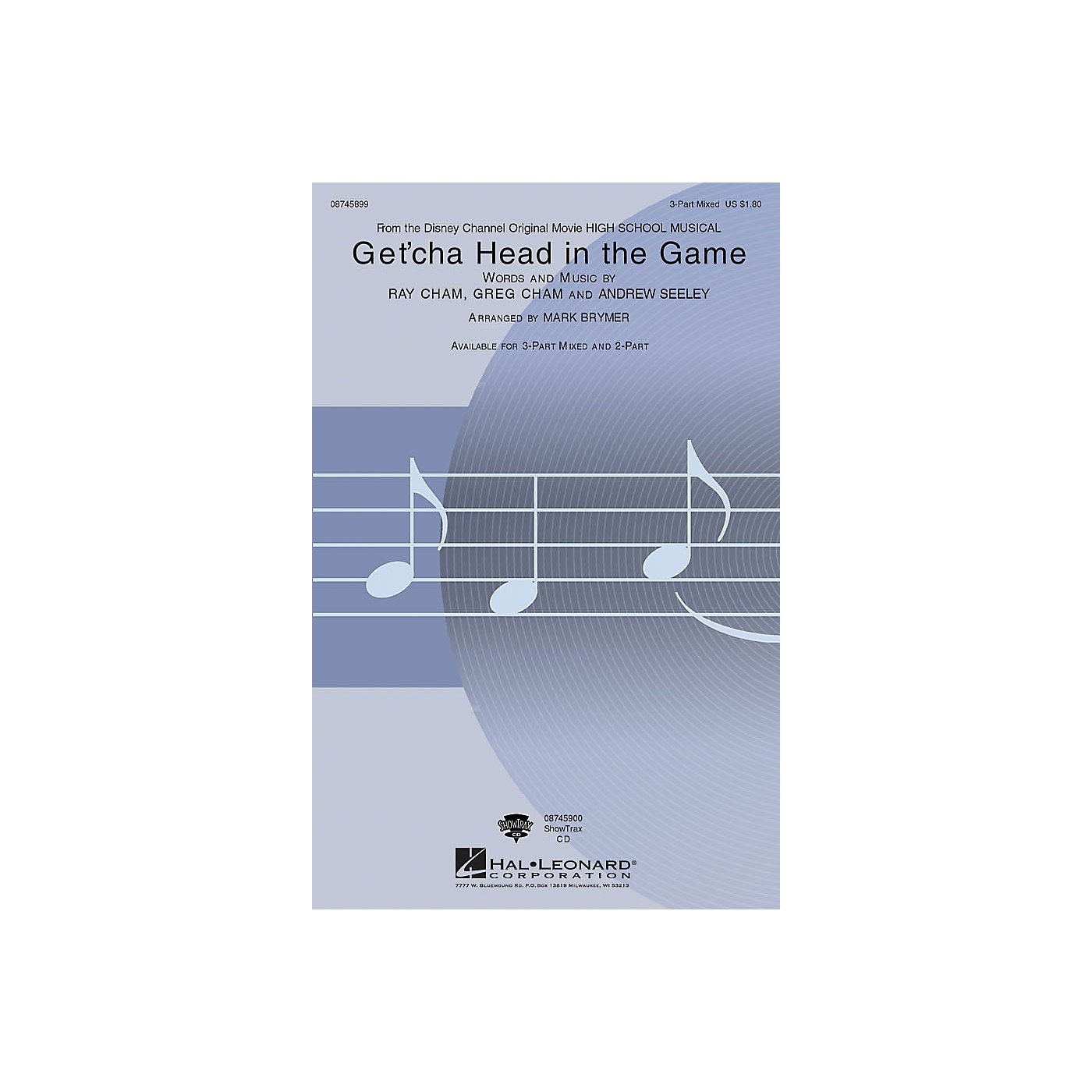 Hal Leonard Get'cha Head in the Game 3-Part Mixed arranged by Mark Brymer thumbnail