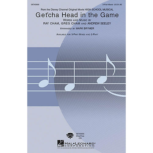 Hal Leonard Get'cha Head in the Game (from High School Musical) 2-Part Arranged by Mark Brymer thumbnail