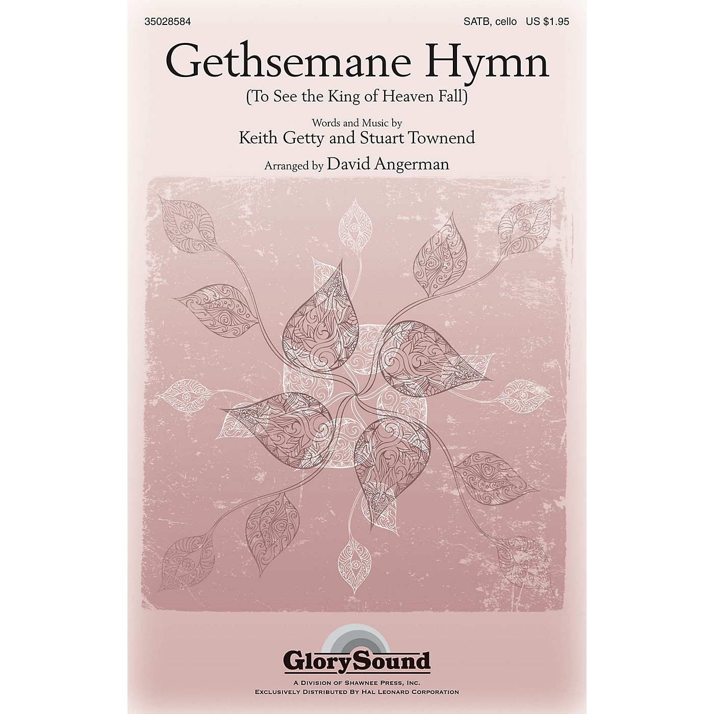 Shawnee Press Gethsemane Hymn (To See the King of Heaven Fall) SATB arranged by David Angerman thumbnail