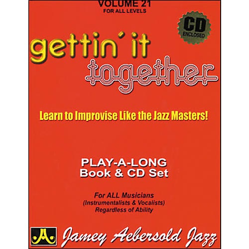 Jamey Aebersold Gettin' It Together Volume 21 Book and CD thumbnail