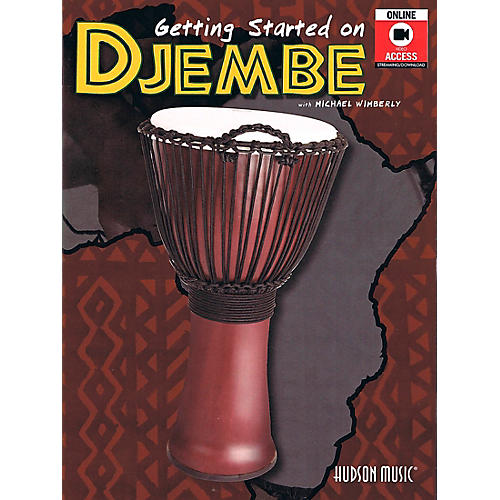 Hal Leonard Getting Started On Djembe Book/Online Audio-thumbnail