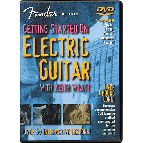 Fender Getting Started On Electric Guitar DVD-thumbnail