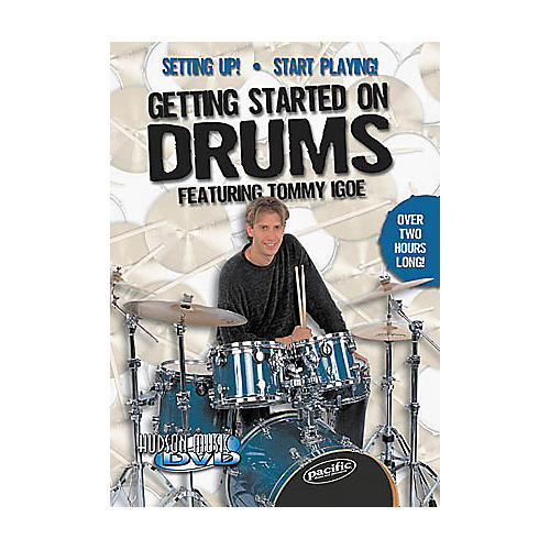 Hudson Music Getting Started on Drums DVD-thumbnail
