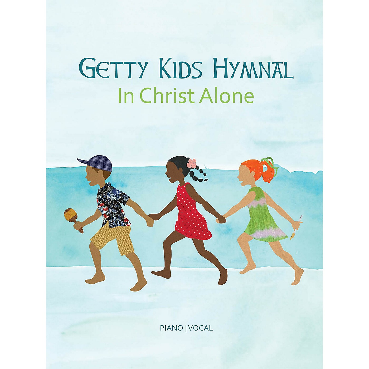 Hal Leonard Getty Kids Hymnal - In Christ Alone Sacred Folio Series Softcover Performed by Keith Getty thumbnail