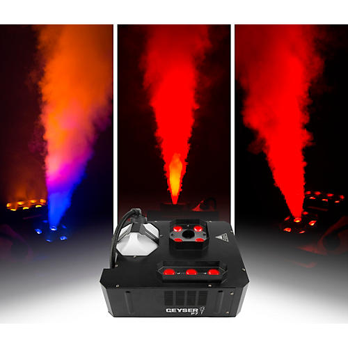 CHAUVET DJ Geyser P7 Compact Fog Machine with RGBA+UV LED and Wireless Remote thumbnail