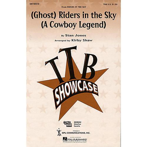 Hal Leonard (Ghost) Riders in the Sky (A Cowboy Legend) (TBB) TTB arranged by Kirby Shaw thumbnail