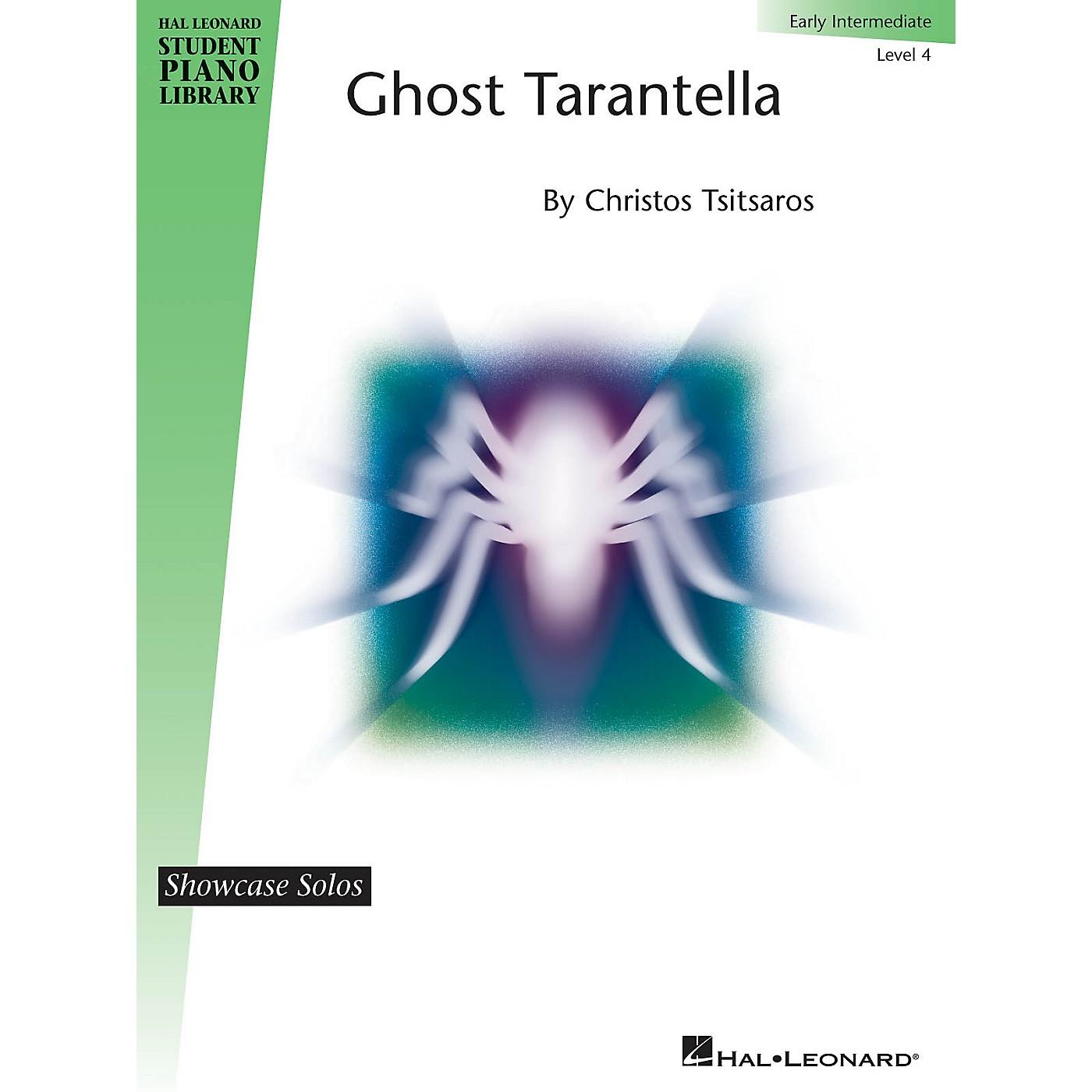 Hal Leonard Ghost Tarantella Piano Library Series by Christos Tsitsaros (Level Early Inter) thumbnail