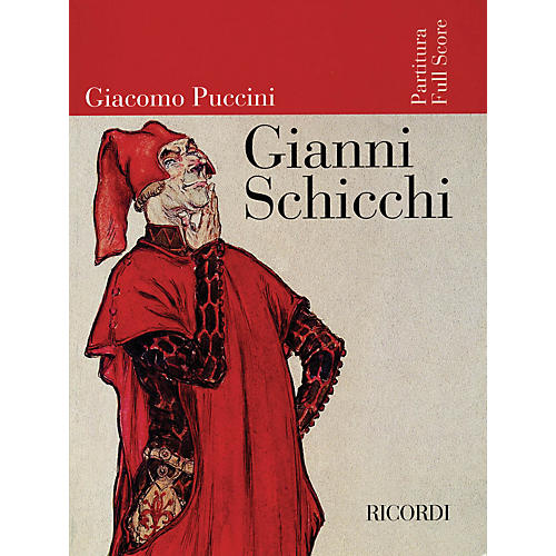 Ricordi Gianni Schicchi (Full Score) Misc Series  by Giacomo Puccini thumbnail