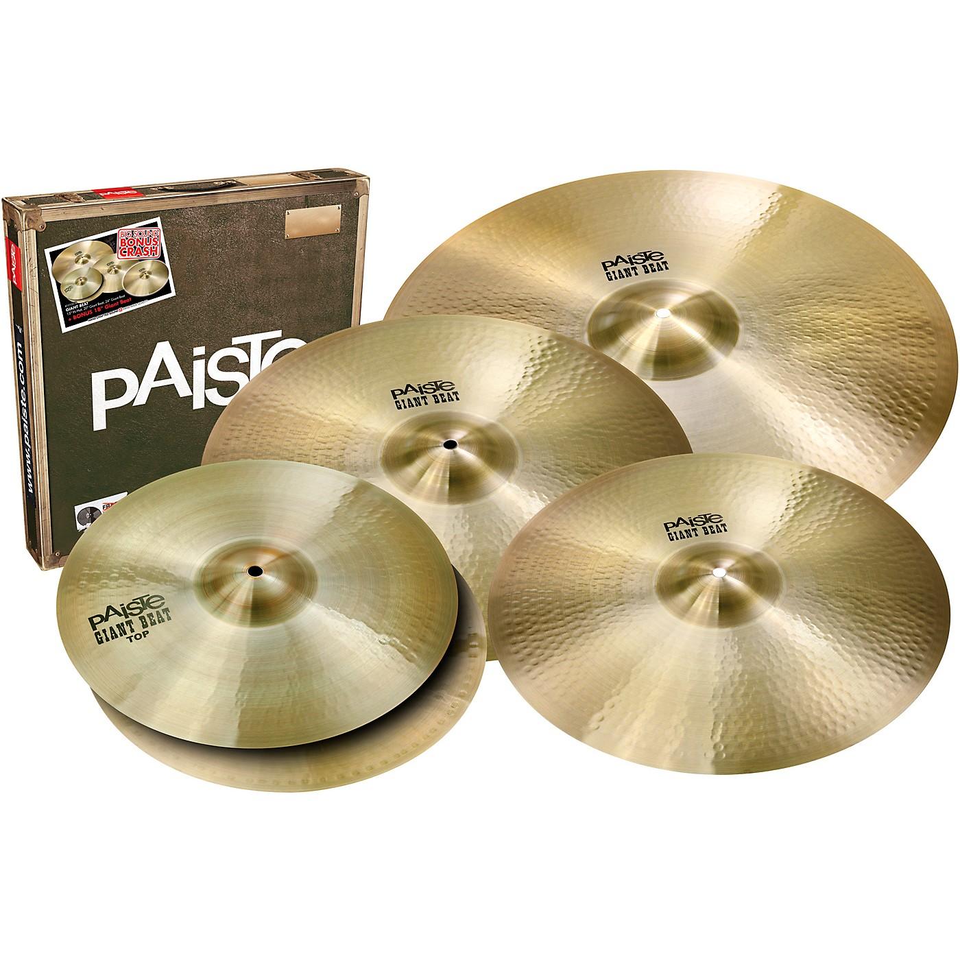 Paiste Giant Beat Big Sound Cymbal Set thumbnail