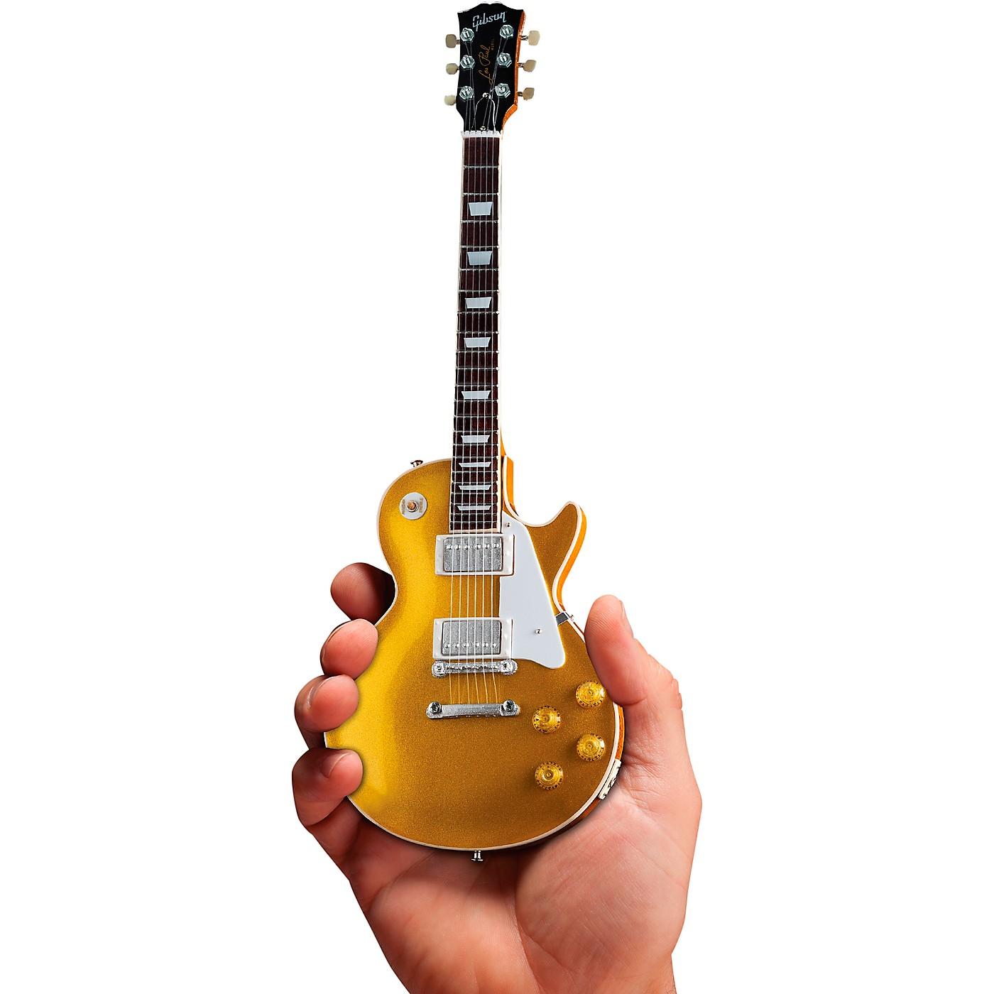 Axe Heaven Gibson 1957 Les Paul Gold Top Officially Licensed Miniature Guitar Replica thumbnail