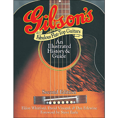 Backbeat Books Gibson's Fabulous Flat-Tops - Revised And Updated thumbnail