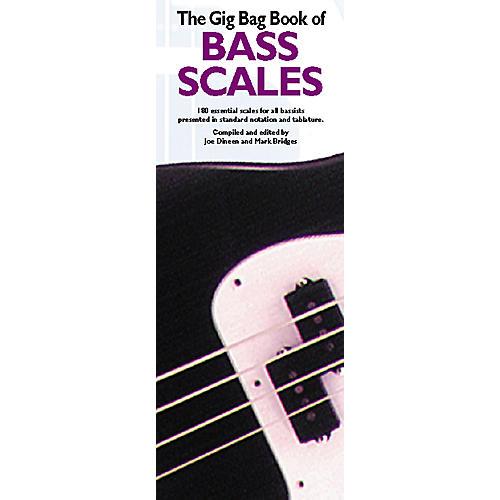 Music Sales Gig Bag Book of Bass Scales thumbnail