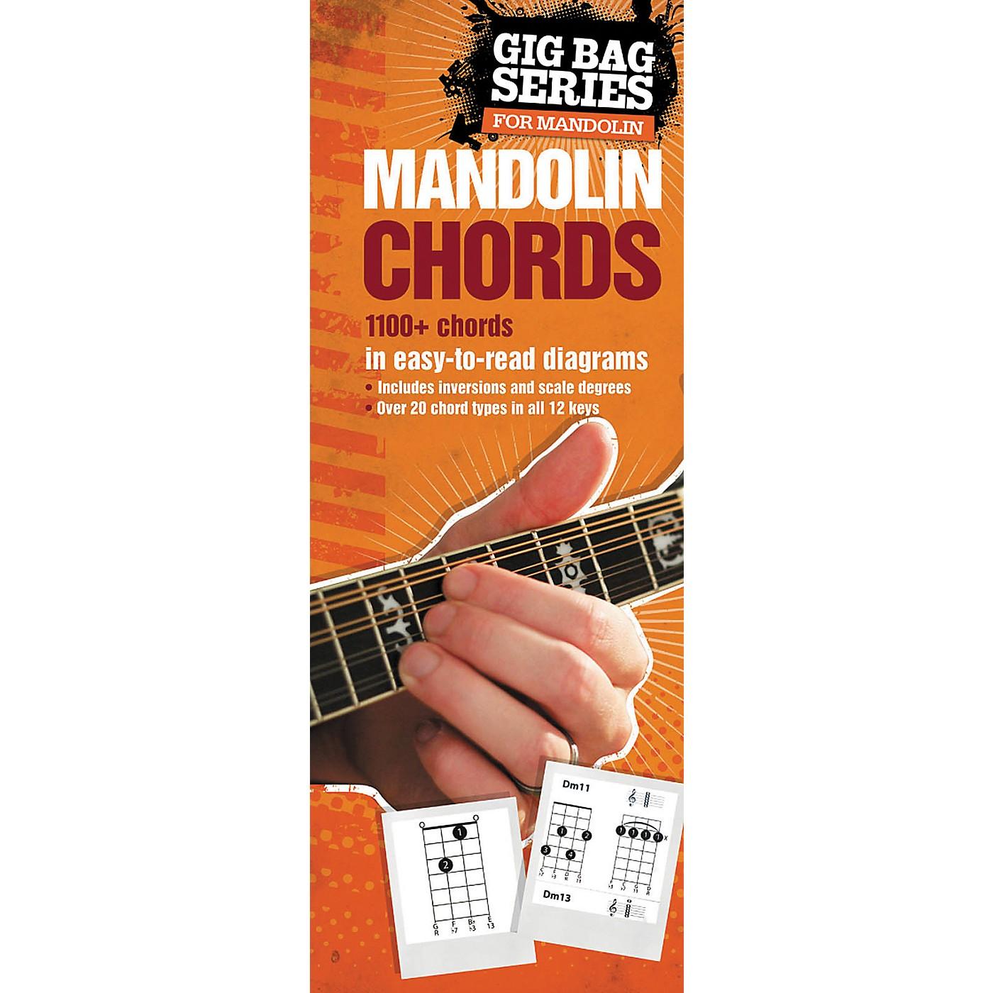 Music Sales Gig Bag Book of Mandolin Chords thumbnail