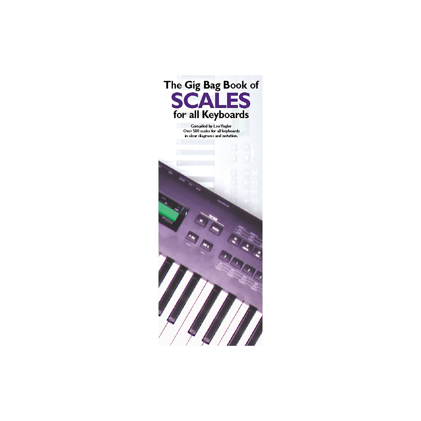 Music Sales Gig Bag Book of Scales for all Keyboards thumbnail