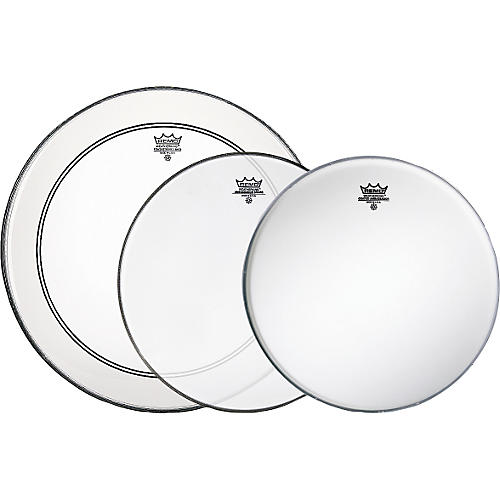 Remo Gig Pro Pack with Free Ambassador Hazy Snare-Side Drum Head thumbnail