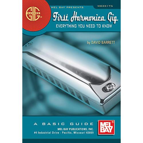 Mel Bay Gig Savers: First Harmonica Gig Book thumbnail
