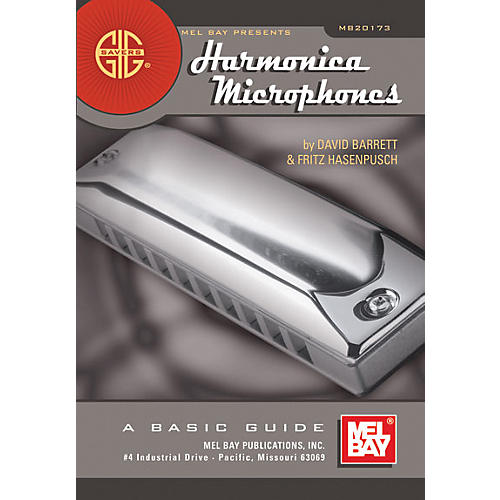 Mel Bay Gig Savers: Harmonica Microphones Book thumbnail