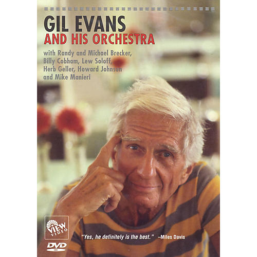 View Video Gil Evans and His Orchestra Live/DVD Series DVD Performed by Gil Evans thumbnail