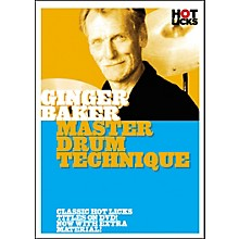 Hot Licks Ginger Baker: Master Drum Techniques DVD