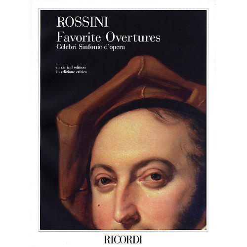 Ricordi Gioachino Rossini - Favorite Overtures Study Score Series Composed by Gioachino Rossini thumbnail