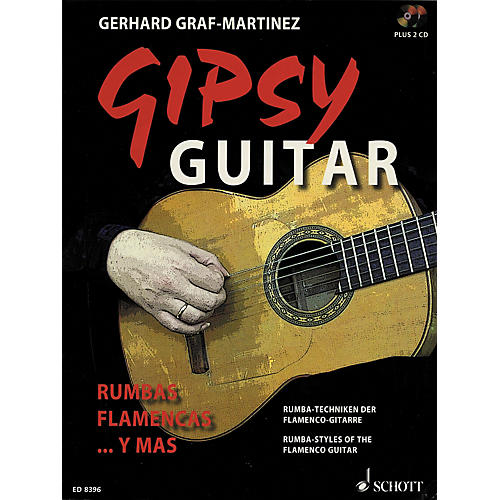 Schott Gipsy Guitar Songbook With 2 CDs thumbnail