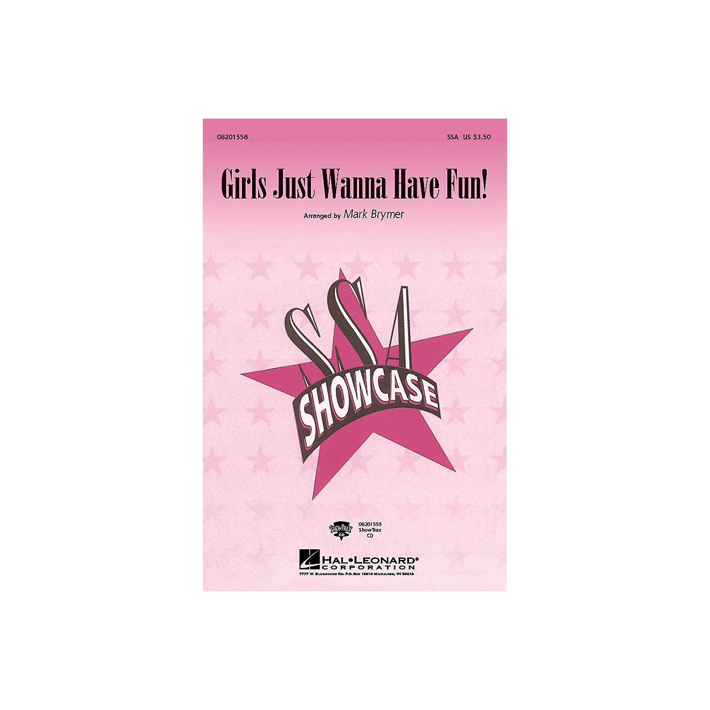 Hal Leonard Girls Just Wanna Have Fun SSA arranged by Mark Brymer thumbnail