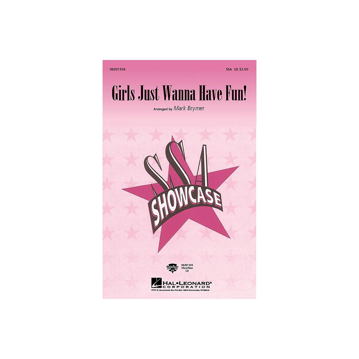 Hal Leonard Girls Just Wanna Have Fun ShowTrax CD Arranged by Mark Brymer thumbnail